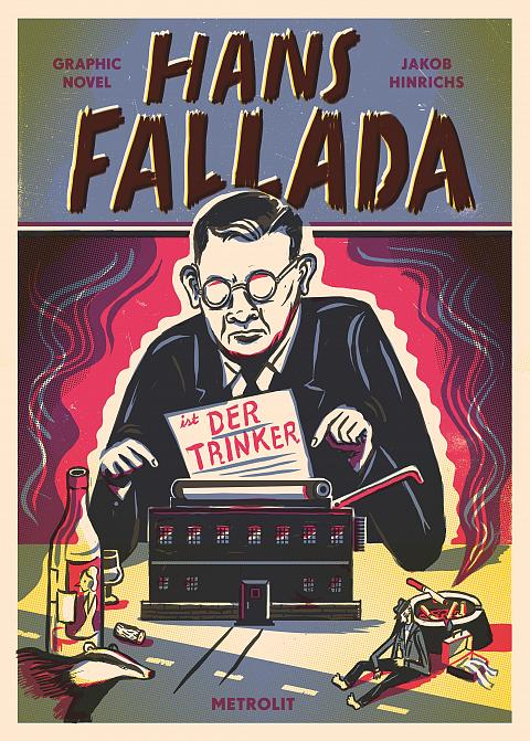 "Cover: ""Hans Fallada, 'Der Trinker'"""