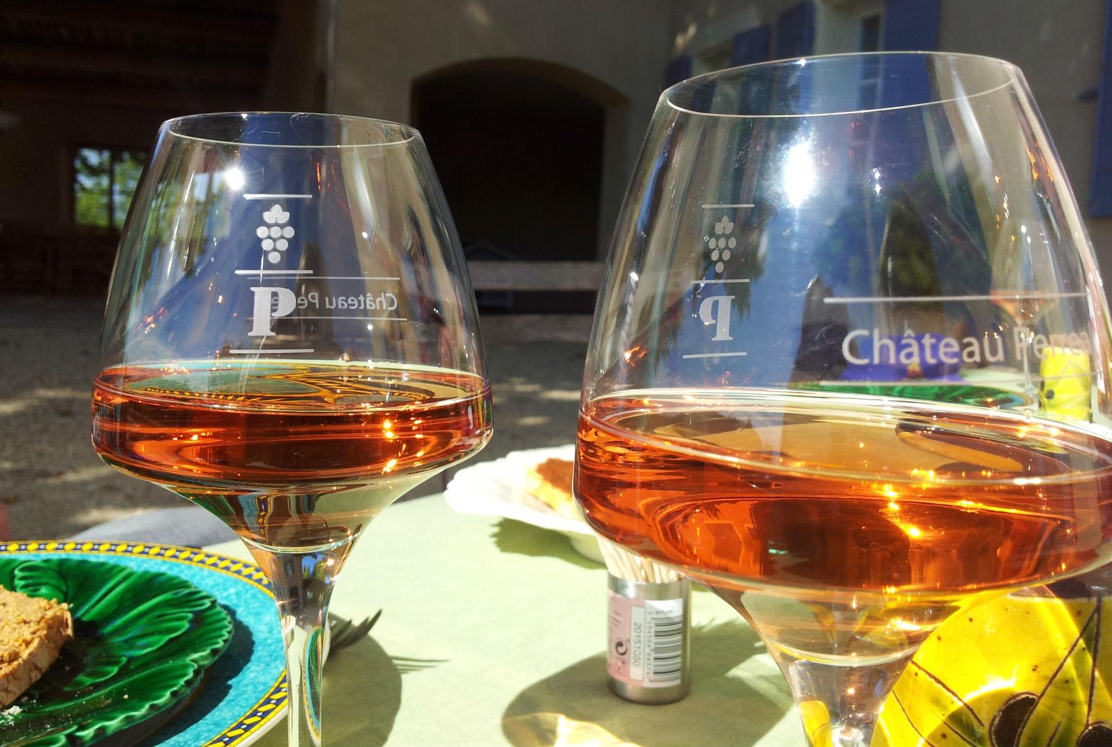 """Auf ein Glas 2015er """"Rosé des Safres"""""""