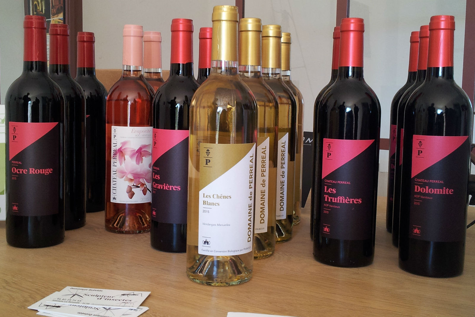 AOC Ventoux und Vin de France: das Sortiment